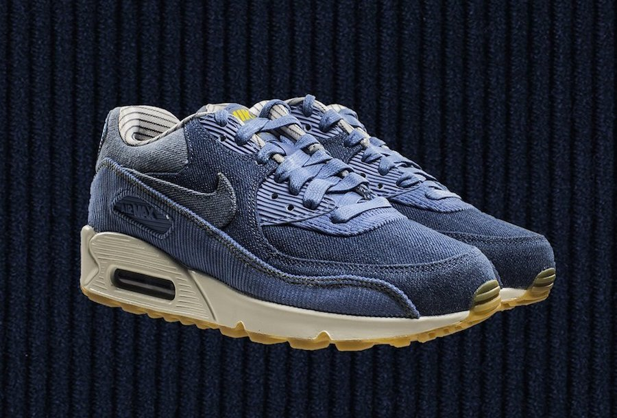Nike Air Max 90 Corduroy Denim 881105 402 | SneakerFiles