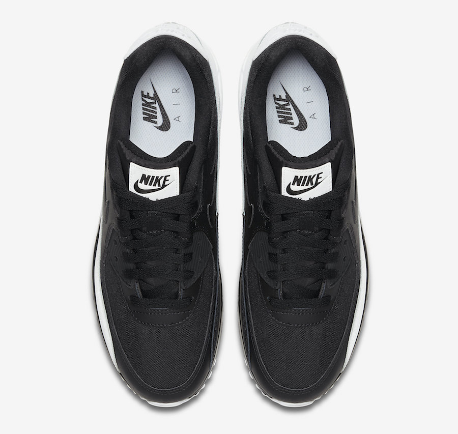Nike Air Max 90 Essential Black White Release Date