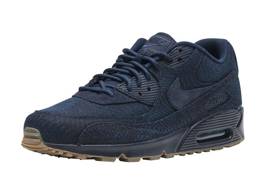 Nike Air Max 90 Premium Indigo 918358 400 | SneakerFiles