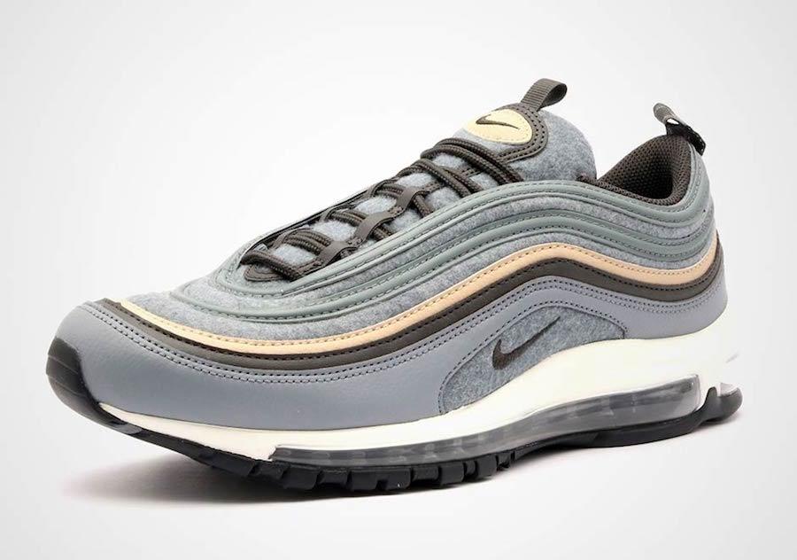 Nike Air Max 97 Deep Pewter Wool 312834-003