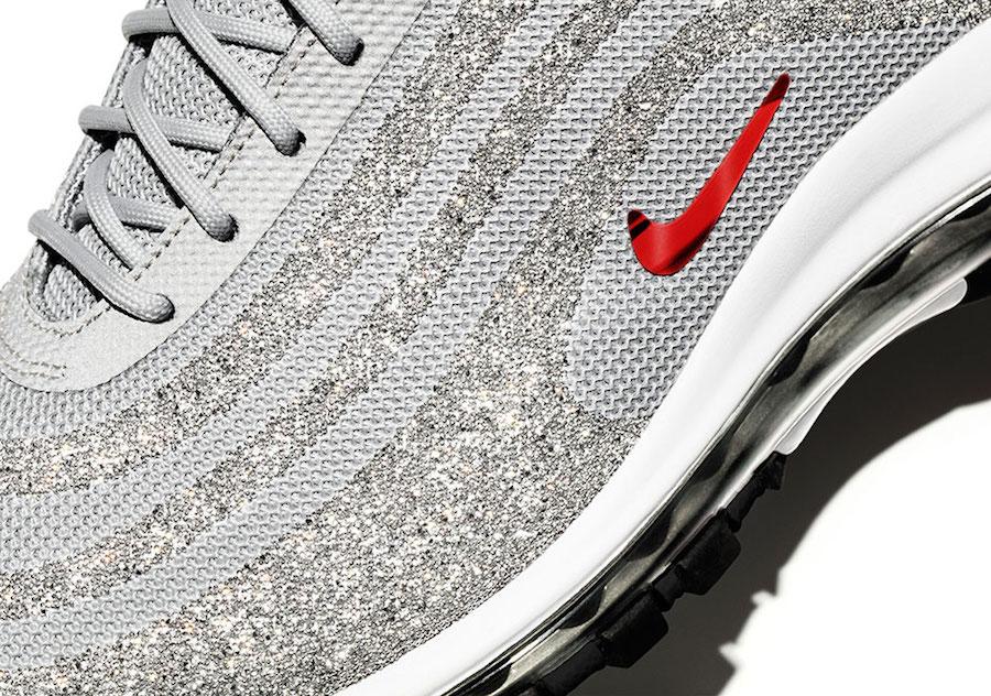 Nike Air Max 97 LX Swarovski Silver Bullet Crystals