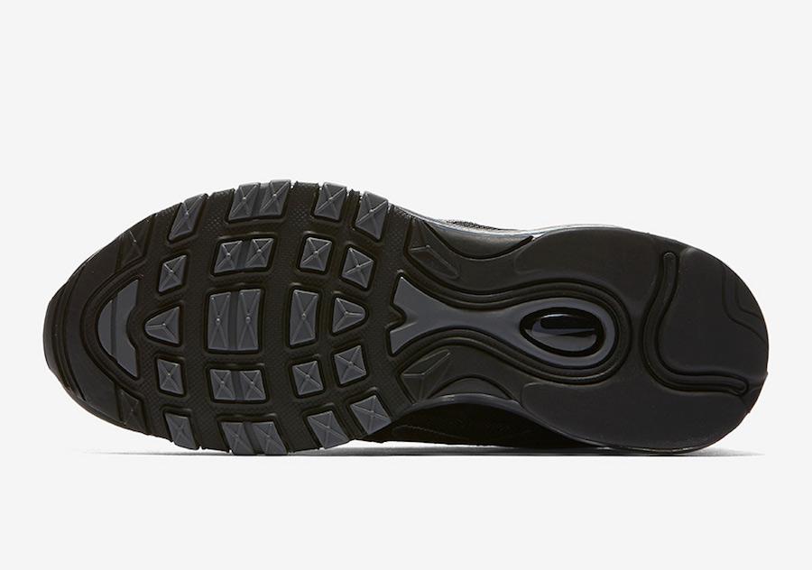 6c943e8c2e Nike Air Max 97 Triple Black 921733-001 | SneakerFiles