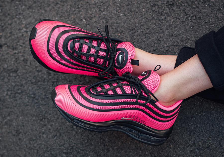 Nike Air Max 97 De Ultra '17 Negro / Color De Rosa Grande hgdPfP