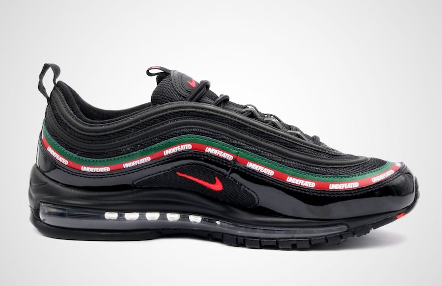 Nike Air Max 97 Undefeated Black Green Red AJ1986-001
