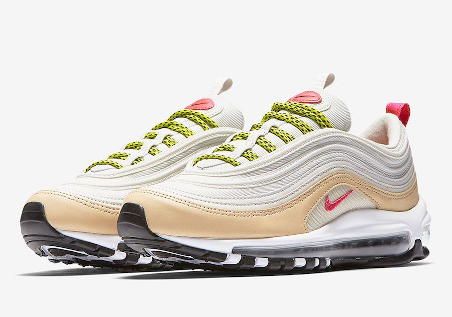 7ea29620b17a36 air max 97 black red air max 97 silver bullet University of Guam