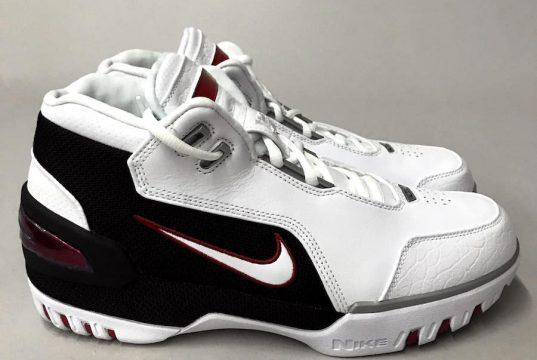 Nike Air Zoom Generation Retro White Crimson Black AJ4204-101