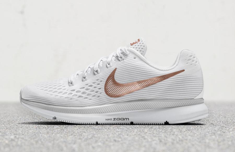 Nike Air Zoom Pegasus 34 White Bronze