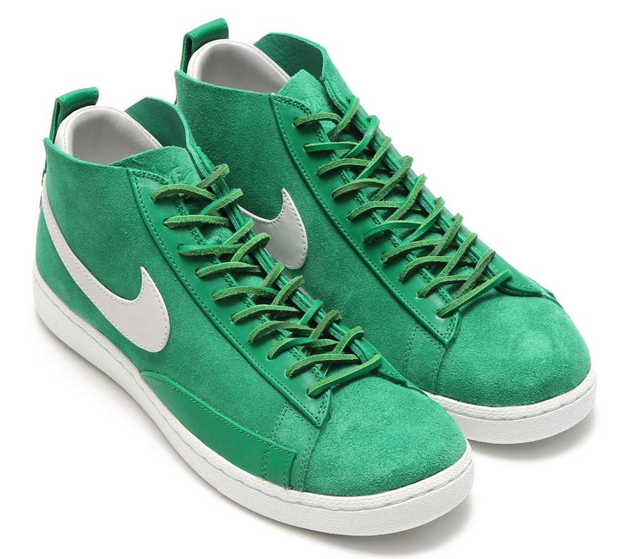 Nike Blazer Chukka Green White AA1058-300