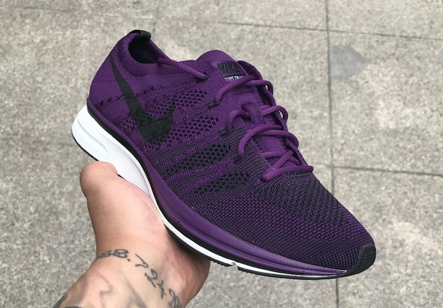 Nike Flyknit Trainer Purple