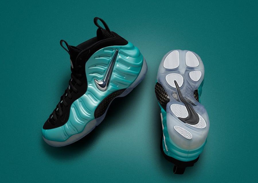 Nike Foamposite Island Green 624041-303