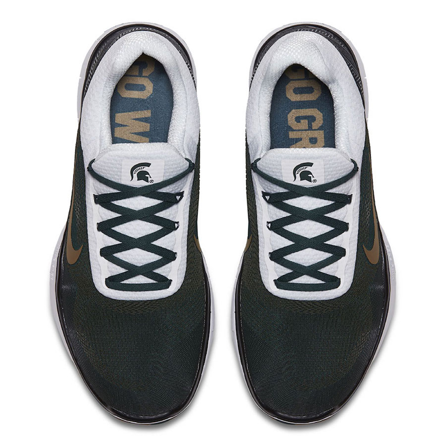 Nike Free Trainer V7 Week Zero Michigan State
