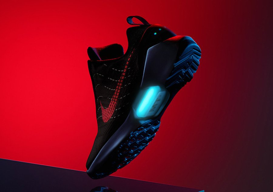 Nike Hyperadapt 1.0 Black University Red Lagoon 843871-005