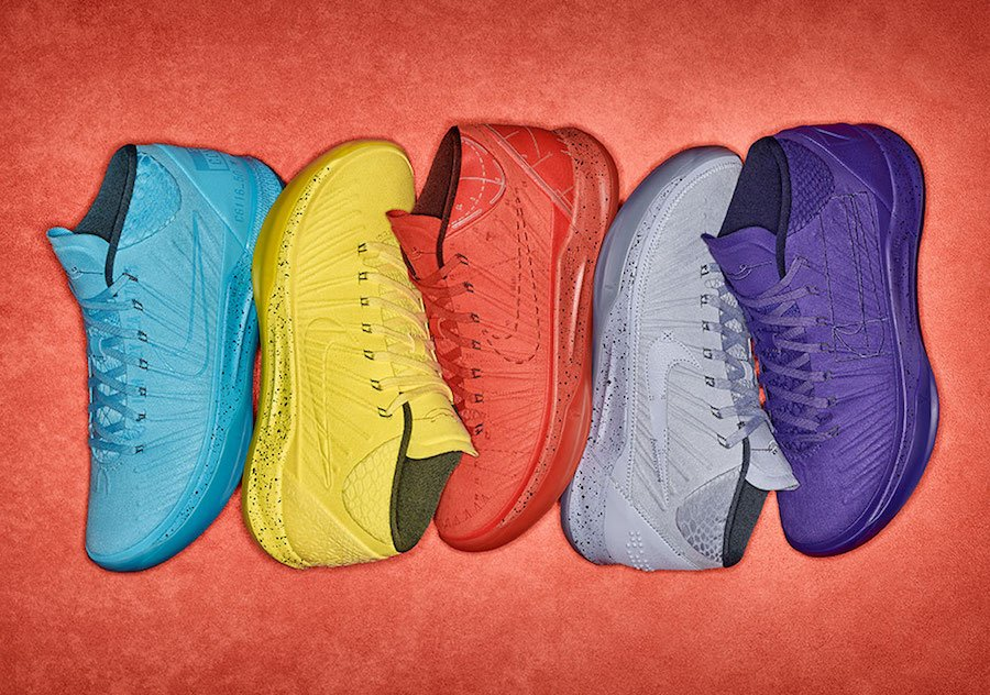 Nike Kobe AD Mid Colorways Release Date