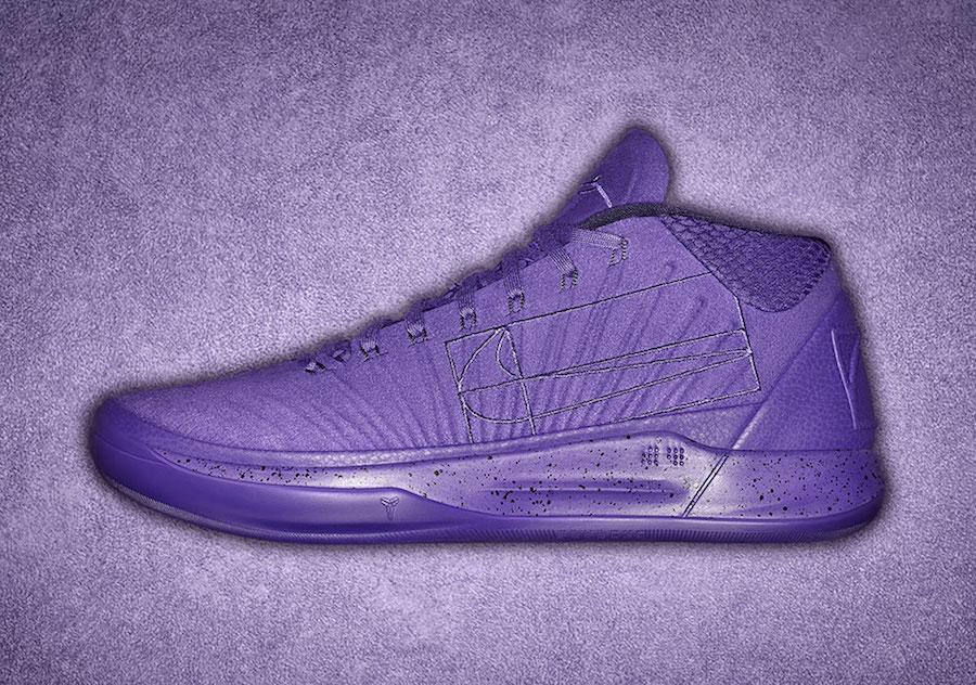 Nike Kobe AD Mid Purple Fearless