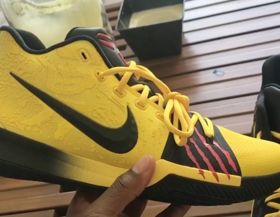 Nike Kyrie 3 Bruce Lee Release Date