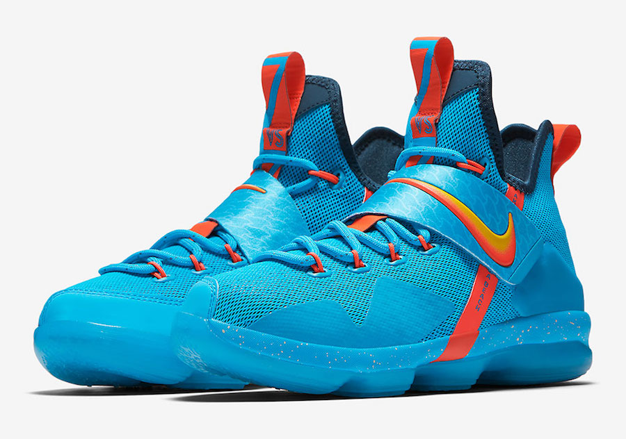check out f864d f3f3e Nike LeBron 14 Cocoa Beach 859468-477 | SneakerFiles
