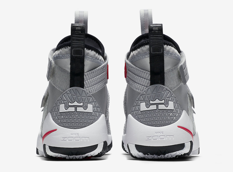 Nike LeBron Soldier 11 Silver Bullet 897647-007