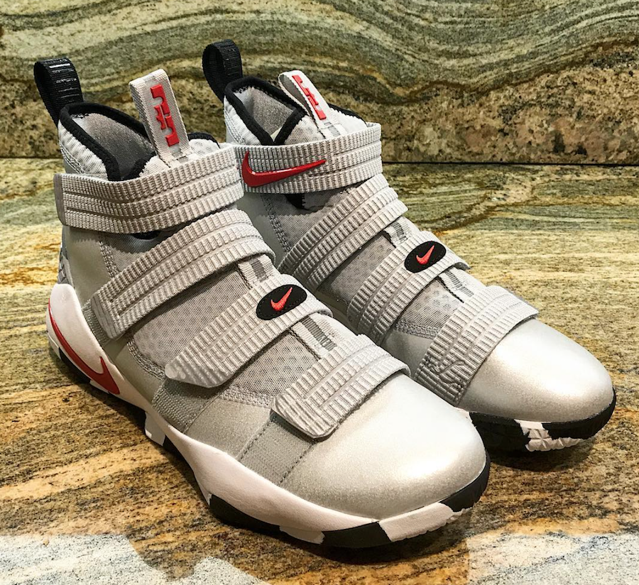 Nike LeBron Soldier 11 Silver Bullet Release Date