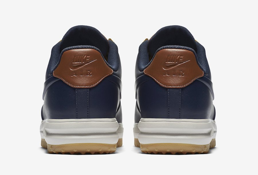 Nike Lunar Force 1 Low Duckboot Obsidian