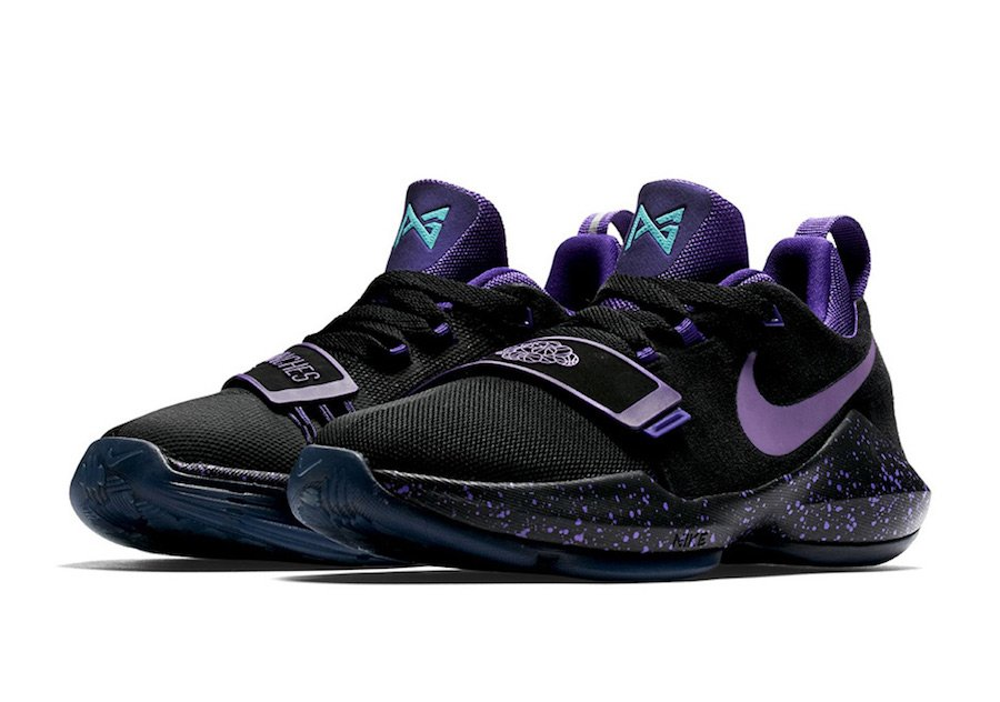 best website 22472 e11bf Nike PG 1 Grape Score in Bunches Release Date