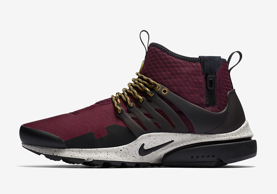 nike air presto mid utility fall 2017 colorways sneakerfiles. Black Bedroom Furniture Sets. Home Design Ideas