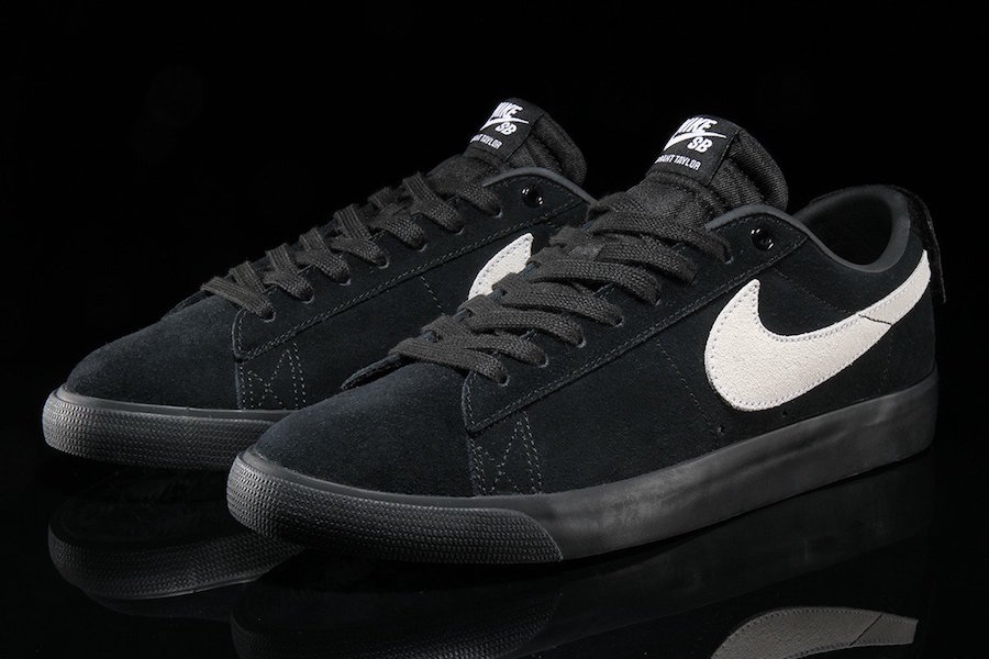 Nike SB Blazer Low GT Black White