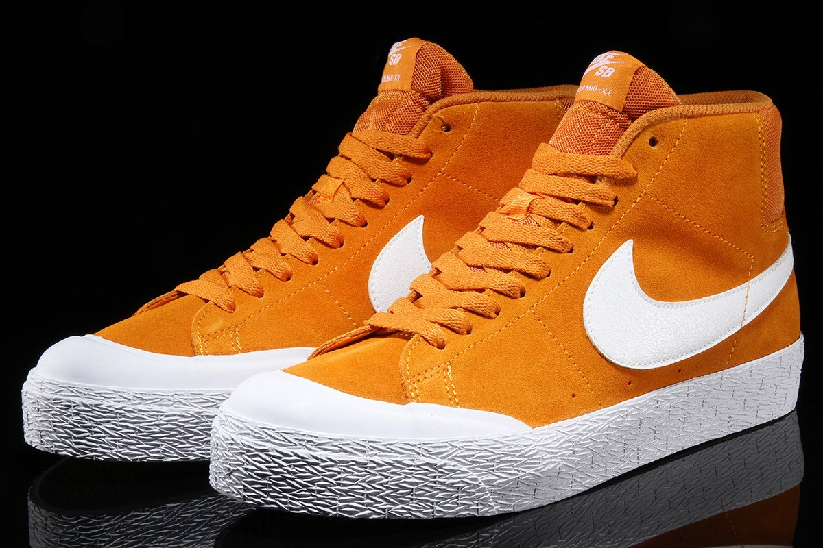 nike sb blazer mid sample tan white orange c92e5a2d81
