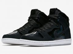 Nike SB Dunk High Elite Black Iridescent Release Date