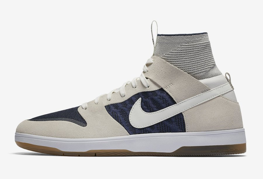Nike SB Dunk High Elite Sail Binary Blue