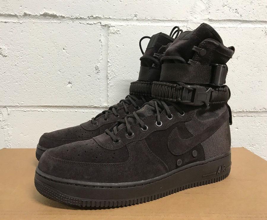 Nike SF-AF1 High Brown Suede Release Date