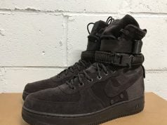 Nike SF-AF1 High Brown Suede Release Date