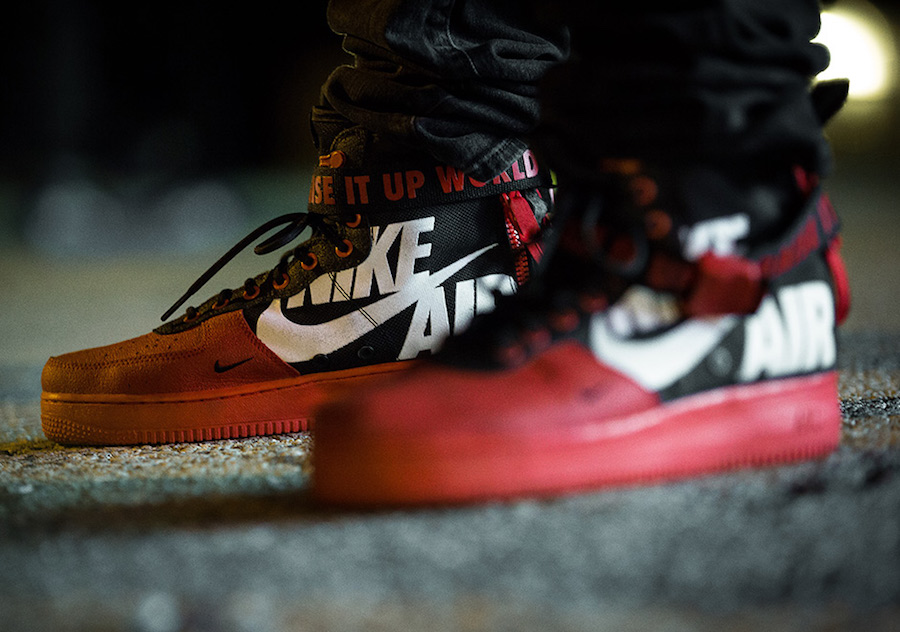 Nike SF-AF1 Mid 12 O Clock Boys Dirt Bike Crew