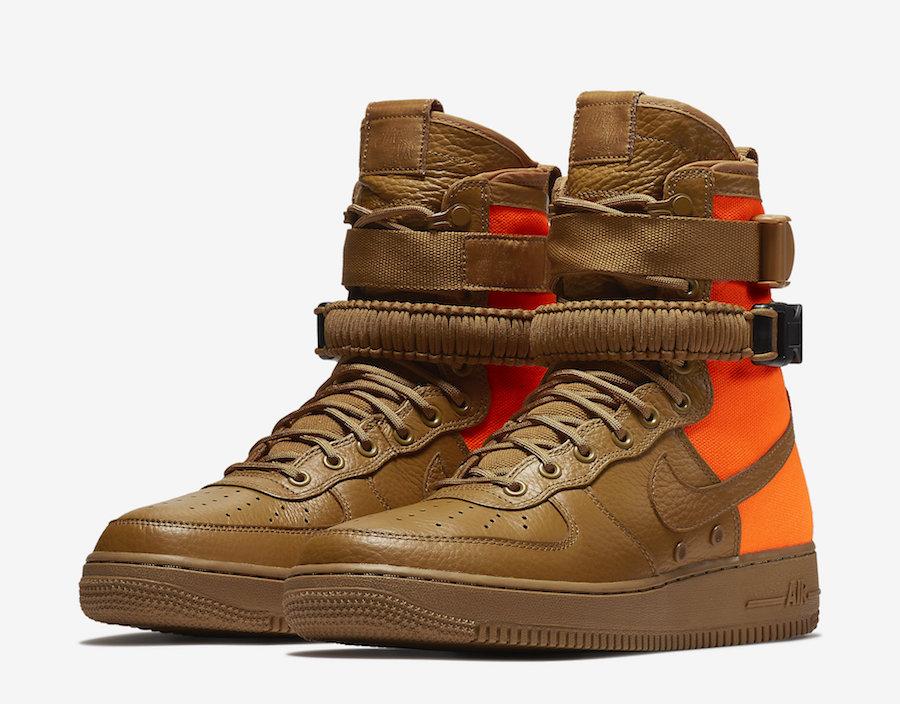 Nike SF-AF1 Mid Desert Ochre Release Date