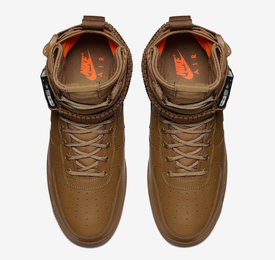 new style 8843b b6ec2 Nike SF-AF1 Mid Desert Ochre Release Date