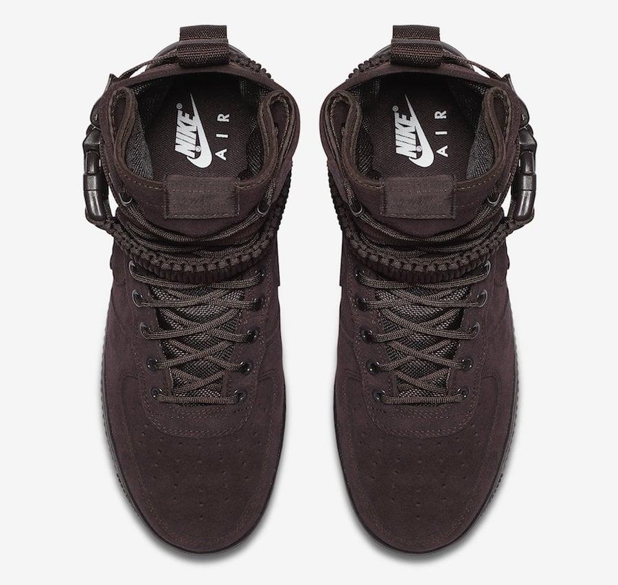 Nike SF-AF1 High Brown Suede 864024-203 Release Date  eb391629b
