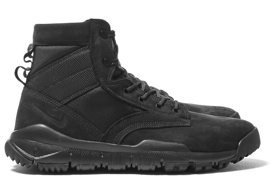 Nike SFB 6 Inch NSW Leather Boot Triple Black
