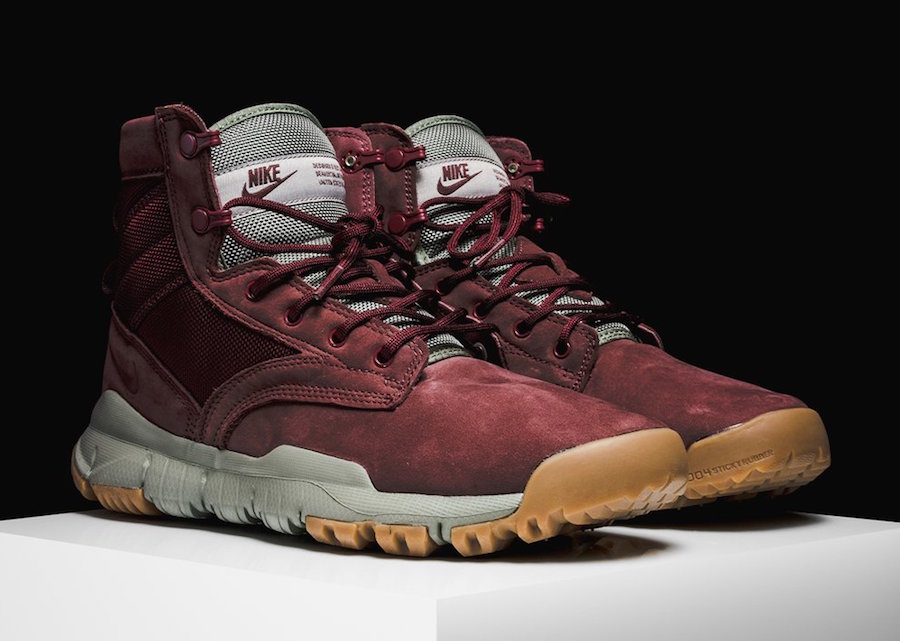 Nike Sfb Field Leather Boot Team Red 862507 600 Sneakerfiles