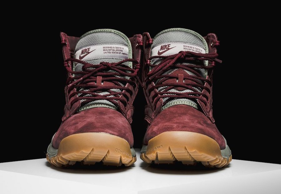 Nike SFB Field 6 Leather Boot Dark Team Red