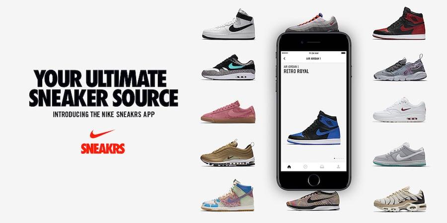 Nike SNKRS App Europe