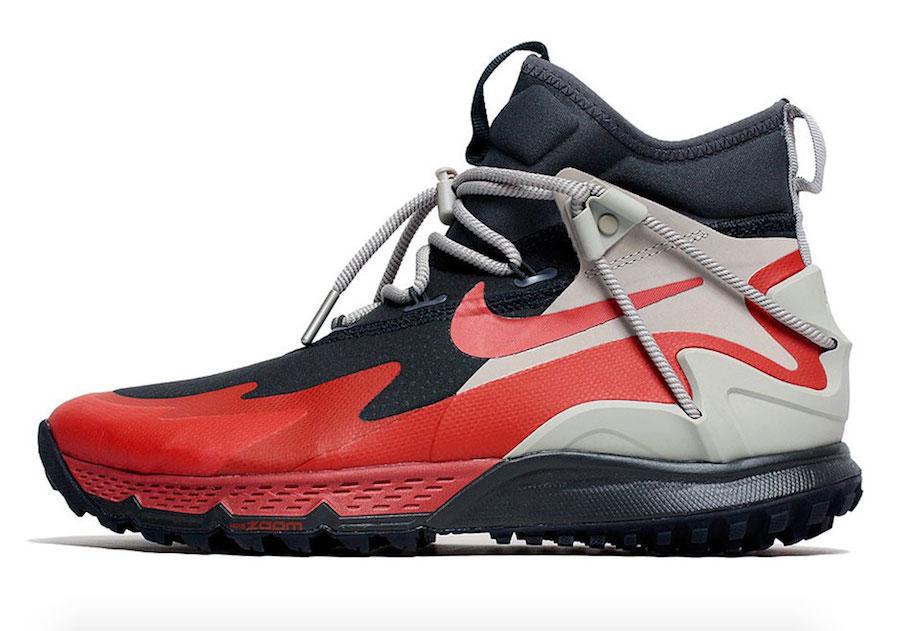 Nike Terra Sertig Boot Anthracite Dragon Red