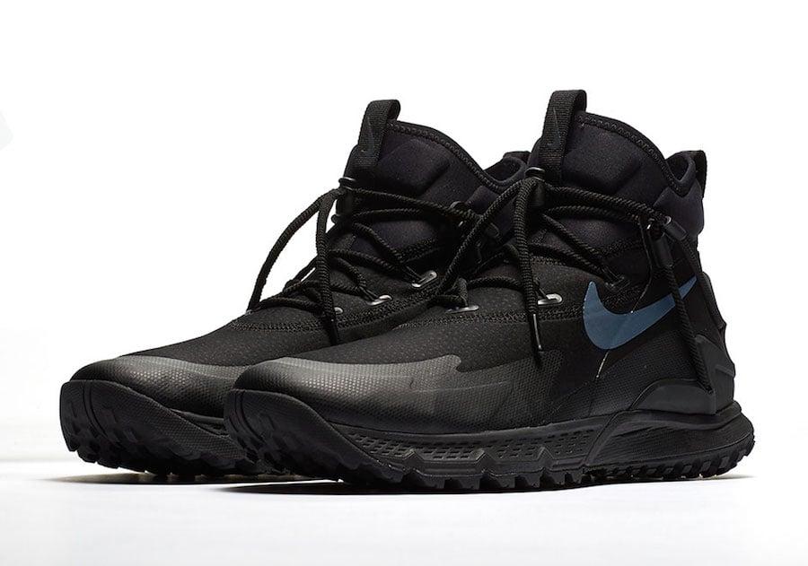 Nike Terra Sertig Boot Triple Black Release Date