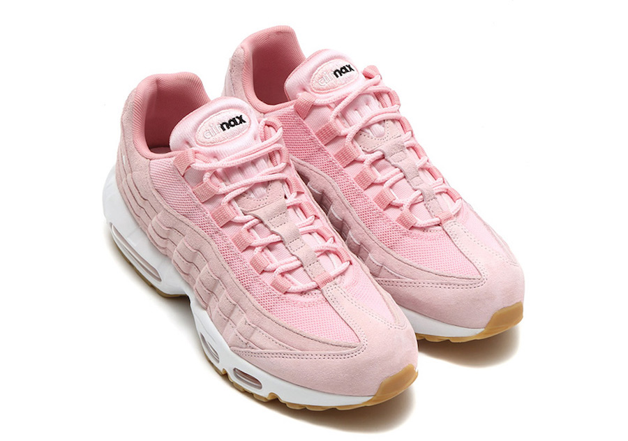 factory authentic 39dc5 56415 ... white hers trainers b670a 7427c  canada nike wmns air max 95 prism pink  963ef b3cbe