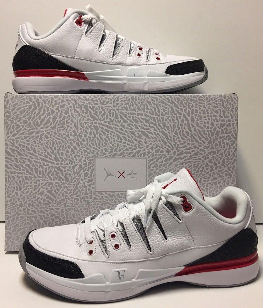 1e1ab05741a1db Nike Zoom Vapor Tour AJ3 Fire Red Release Date
