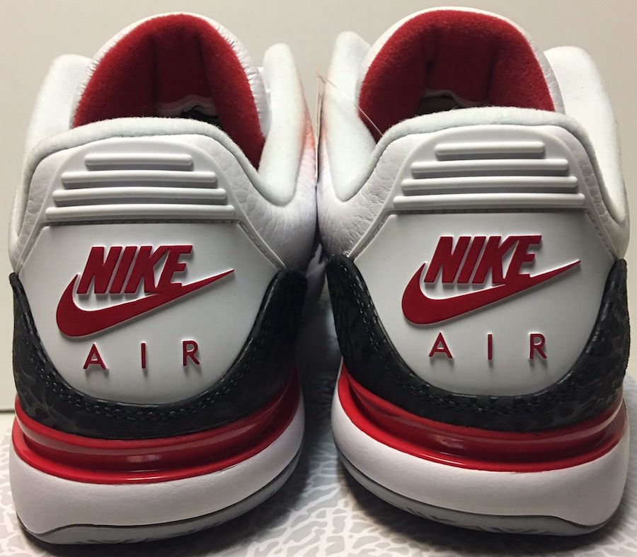 Nike Zoom Vapor Tour AJ3 Fire Red Release Date