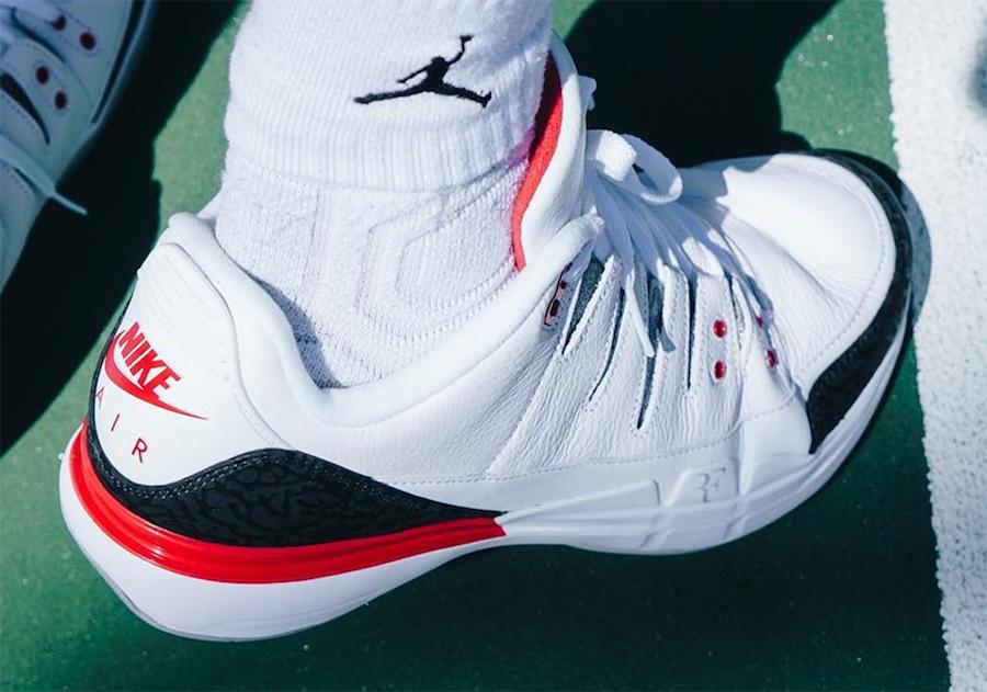 Nike Zoom Vapor Tour AJ3 Fire Red Release Details