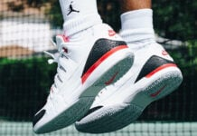 Nike Zoom Vapor Tour AJ3 Fire Red Release Details
