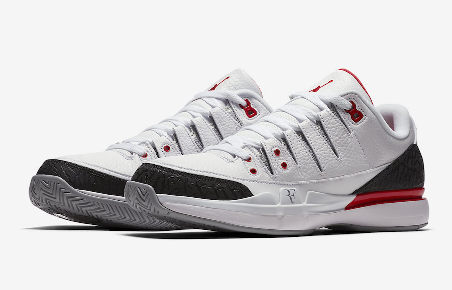 ff5abcd8fb58da Nike Zoom Vapor Tour RF AJ3 Fire Red 709998-106