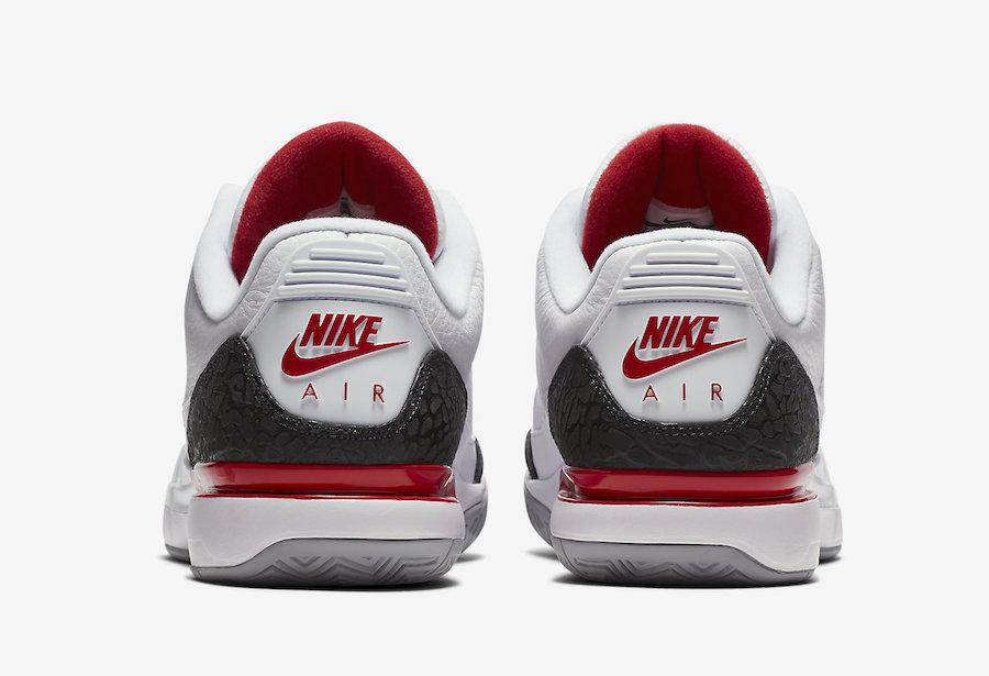 Nike Zoom Vapor Tour RF AJ3 Fire Red 709998-106