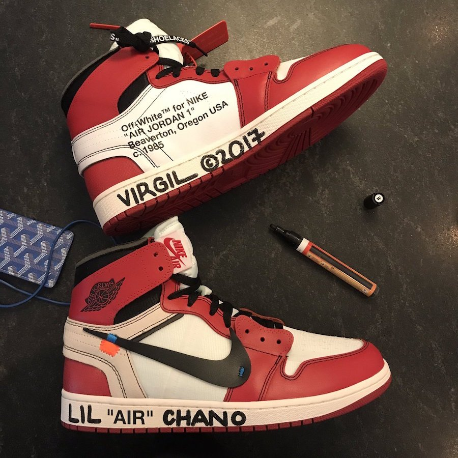 nike off white shoes jordan 1