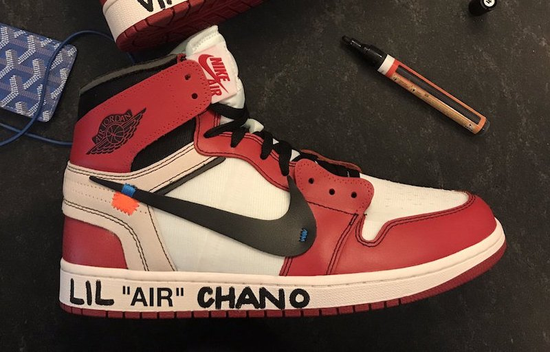 OFF-WHITE Jordan 1 Chance The Rapper